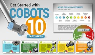 Robotics ebook - learn about the benefits of automation with cobots