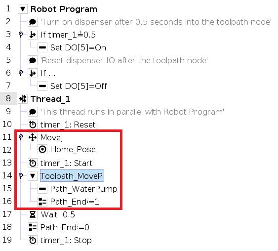 G-code tool path