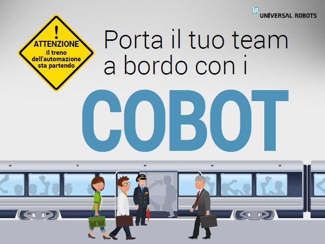 Porta il tuo team a bordo con i cobot, ebook, cobot