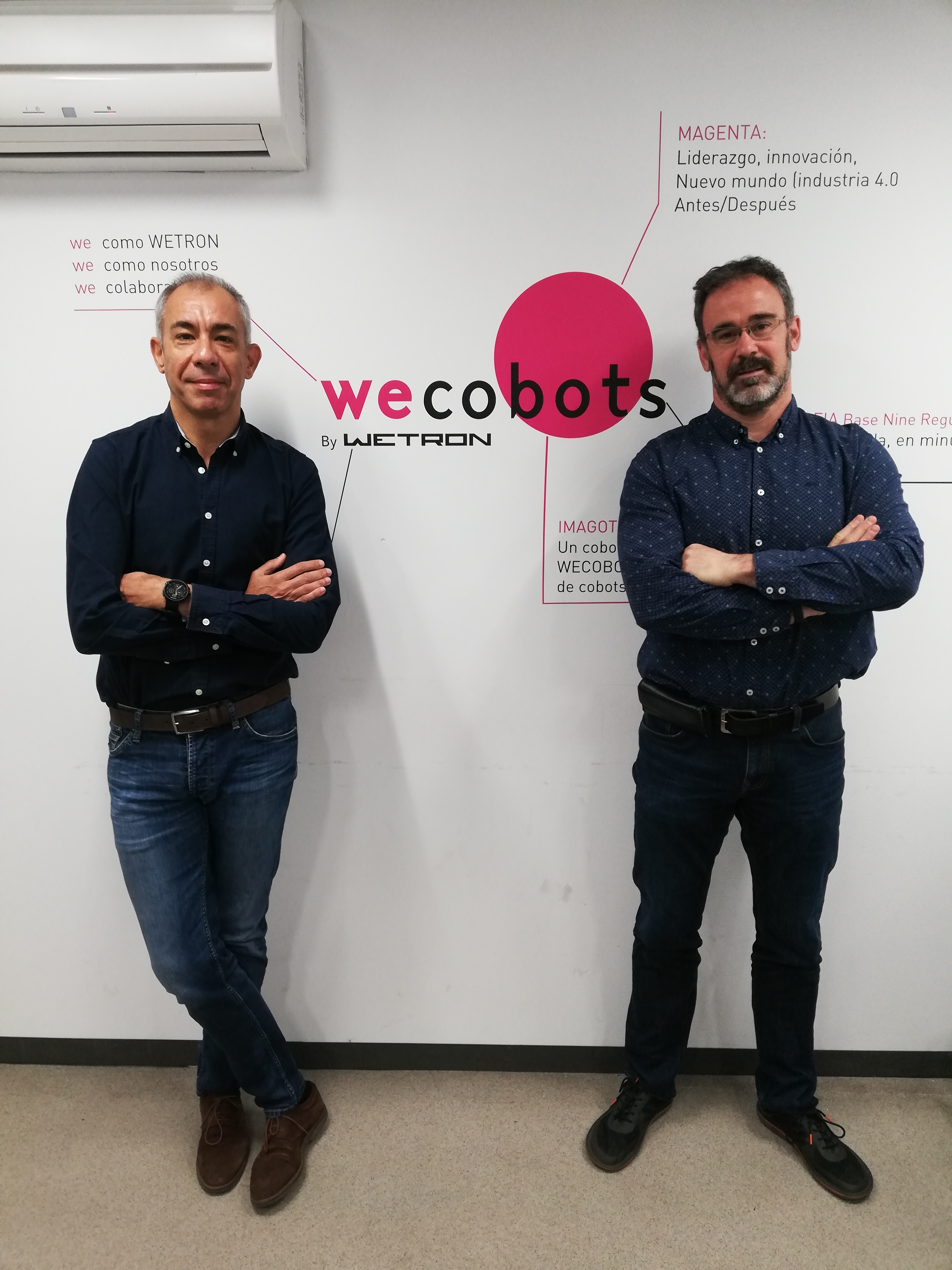 Oscar Orcajo y Alberto Hernando