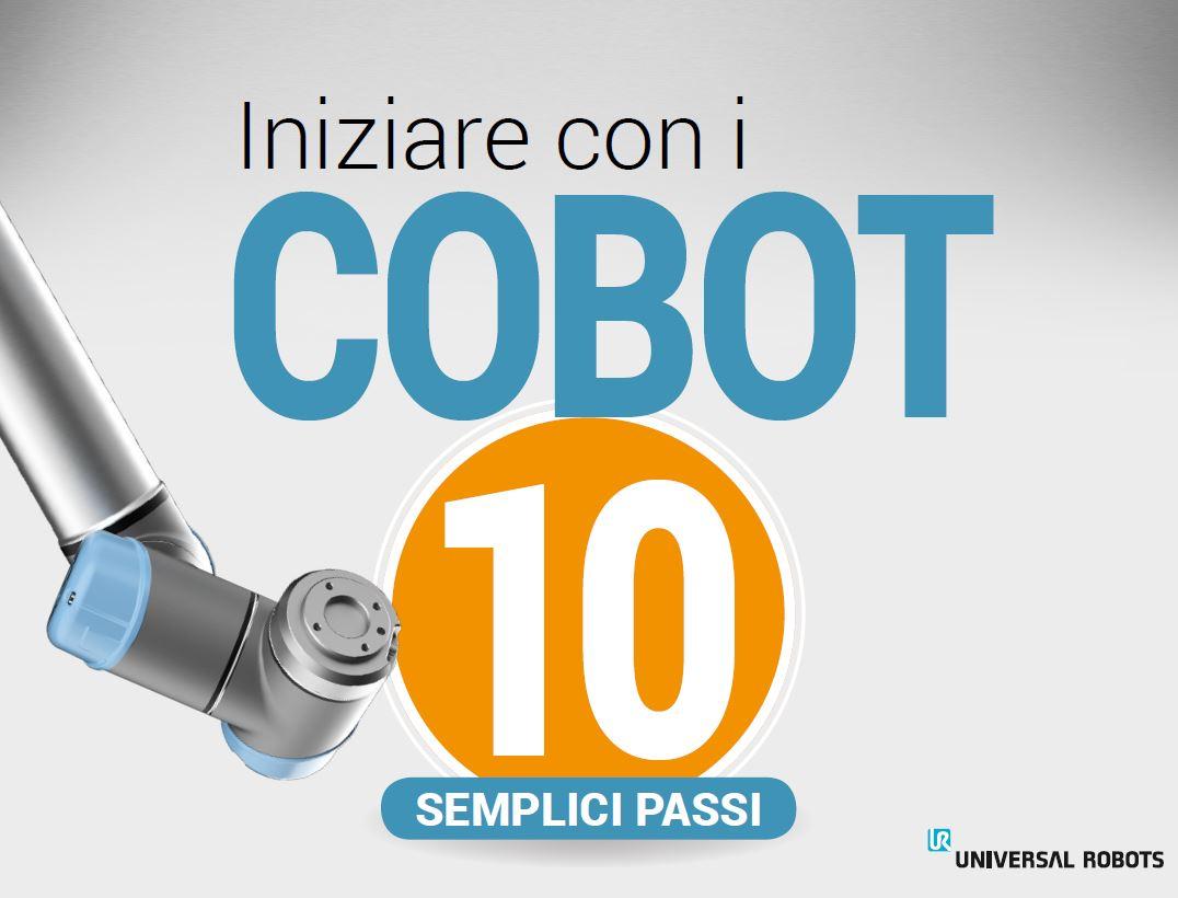 Iniziare con i cobot, ebook, robot collaborativi